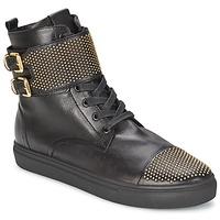 Shoes Women Hi top trainers Kennel + Schmenger URZI Black / Gold