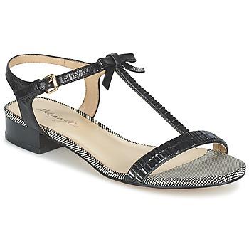 Shoes Women Sandals Metamorf'Ose ZAFOIN Black