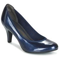 Shoes Women Heels Marco Tozzi JAFRAKO Marine