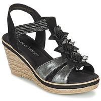 Shoes Women Sandals Marco Tozzi CHAVELA Black