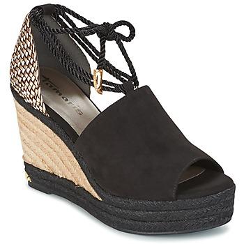 Shoes Women Sandals Tamaris NERE Black