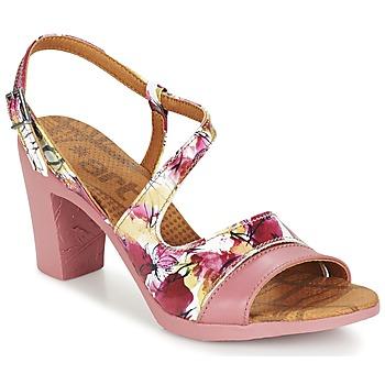 Shoes Women Sandals Art RIO FLOWERS