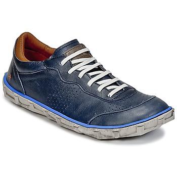 Shoes Men Low top trainers Art MELBOURNE Blue
