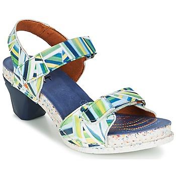 Shoes Women Sandals Art I  ENJOY Stripes