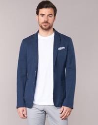Clothing Men Jackets / Blazers Benetton MASKIOL Marine