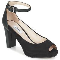 Shoes Women Sandals Clarks KENDRA ELLA Black