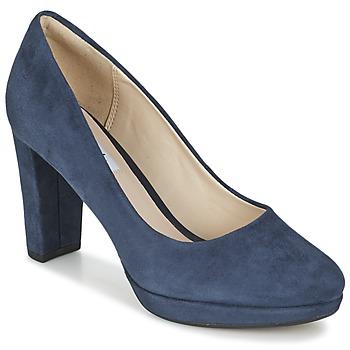 Shoes Women Heels Clarks KENDRA SIENNA Blue