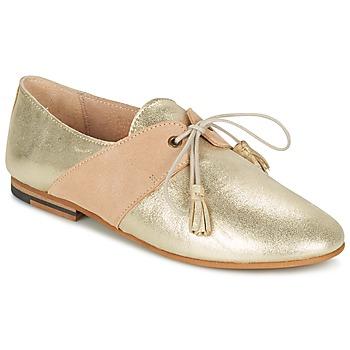 Shoes Women Derby Shoes M. Moustache MARTINE Gold