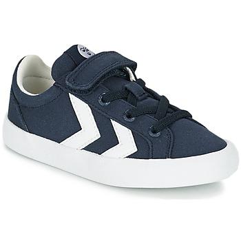 Shoes Children Low top trainers Hummel DEUCE COURT JR Black