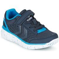 Shoes Children Low top trainers Hummel CROSSLITE JR MARINE