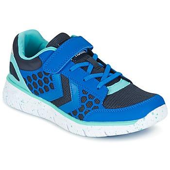 Shoes Children Low top trainers Hummel CROSSLITE JR Blue