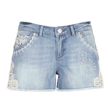 Clothing Women Shorts / Bermudas Desigual MARTES Blue