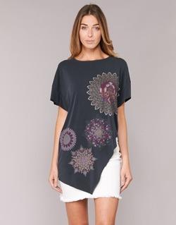 Clothing Women Tunics Desigual GRIZULLO Black