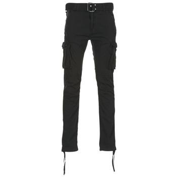 Clothing Men Cargo trousers Schott TR RANGER 70 Black