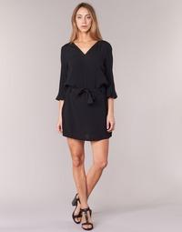 Clothing Women Short Dresses See U Soon 7121032 Black