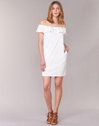 Clothing Women Short Dresses See U Soon 7123017 White