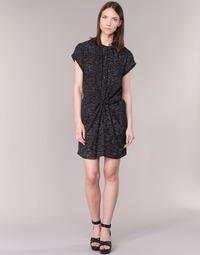 Clothing Women Short Dresses See U Soon 7121114 Black