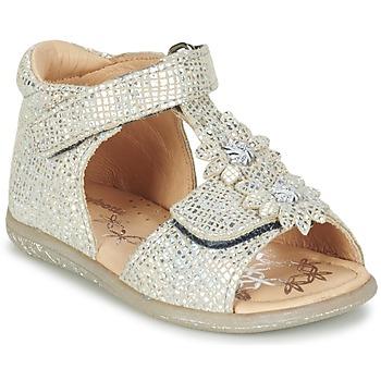 Shoes Girl Sandals Babybotte TUTU Silver
