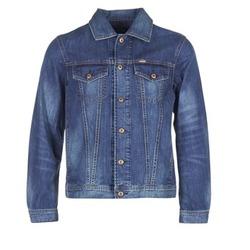 Clothing Men Denim jackets Diesel NHILL Blue