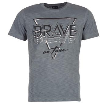 Clothing Men short-sleeved t-shirts Diesel T DIEGO NE Grey