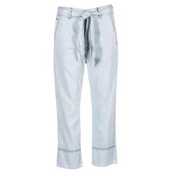 Clothing Women Wide leg / Harem trousers Diesel DE JAMA Blue