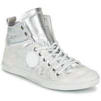 Shoes Women Hi top trainers Pataugas BANJOU/MT F2C Silver