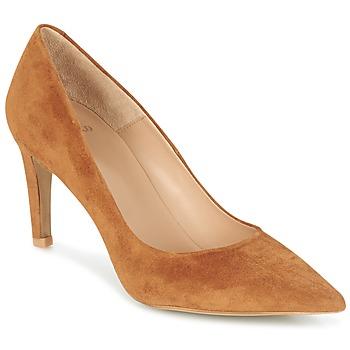 Shoes Women Heels Perlato REVOUTE CAMEL