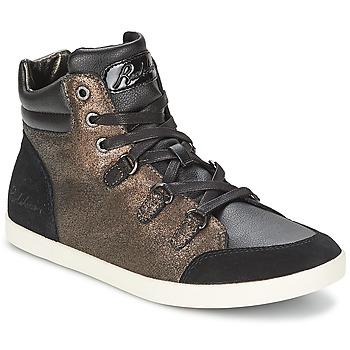 Shoes Women Hi top trainers Redskins CADIX Black / BRONZE