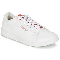 Shoes Women Low top trainers Le Temps des Cerises SACHA White