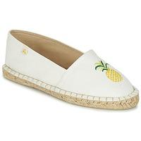 Shoes Women Espadrilles Le Temps des Cerises CANCUN White