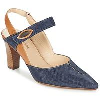 Shoes Women Heels France Mode PASTEL SE TA Brown / Blue