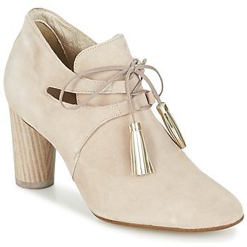 Shoes Women Shoe boots France Mode NANIE SE TA Beige