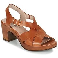 Shoes Women Sandals Wonders DRESCA COGNAC