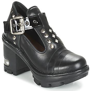 Shoes Women Shoe boots New Rock DEZDO Black