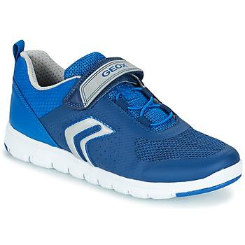 Shoes Boy Low top trainers Geox J XUNDAY B. B MARINE