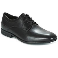 Shoes Men Derby Shoes Rockport SC PLAIN TOE Black