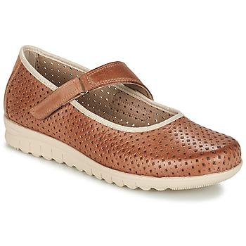 Shoes Women Flat shoes Pitillos FARCO Brown