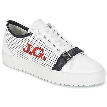 Shoes Men Low top trainers John Galliano 2477CA White