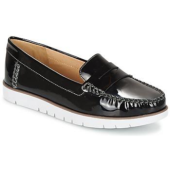 Shoes Women Derby Shoes Geox D KOOKEAN F Black