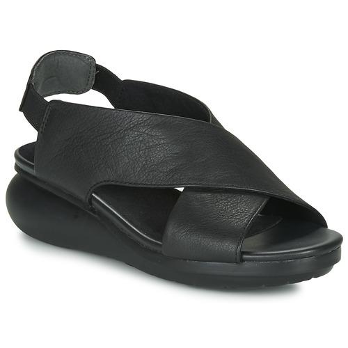 Shoes Women Sandals Camper BALLOON Black