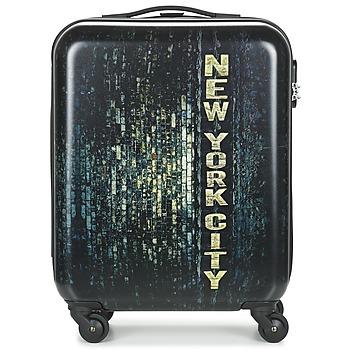 Bags Hard Suitcases David Jones ORVILLETTE 84L Black