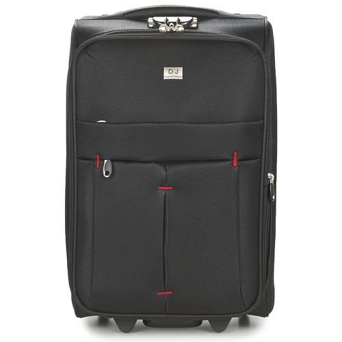 Bags Soft Suitcases David Jones JAVESKA 49L Black
