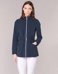Clothing Women Jackets Geox TRIDE Marine