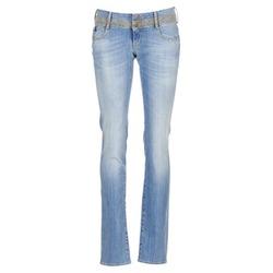 Clothing Women straight jeans Le Temps des Cerises 220 Blue / Clear