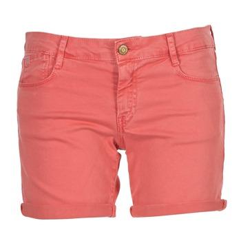 Clothing Women Shorts / Bermudas Le Temps des Cerises JANKA Coral
