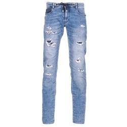 Clothing Men slim jeans Le Temps des Cerises 711 JOGG Blue / Clear