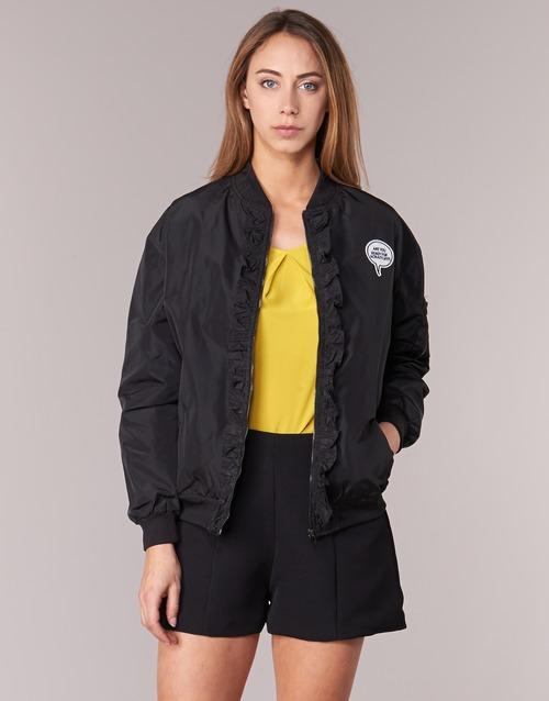 Clothing Women Jackets Molly Bracken RESTIFO Black