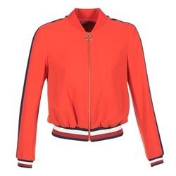 Clothing Women Jackets Tommy Hilfiger JILLIAN Red