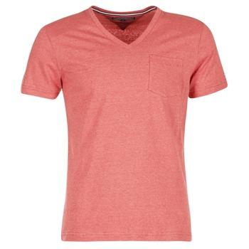 Clothing Men short-sleeved t-shirts Tommy Hilfiger HTR END ON END Pink