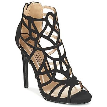 Shoes Women Sandals Spot on LAFOUILLE Black